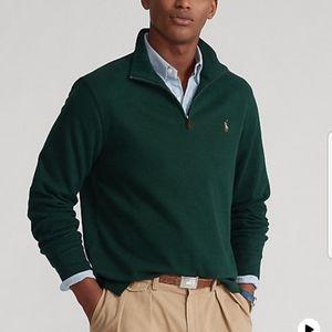 Polo Ralph Lauren Men's Quarter Zip Sweater